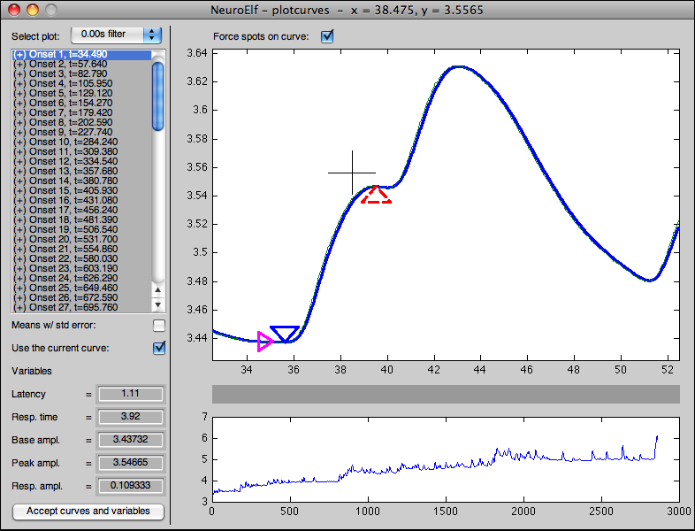 plotcurves UI (with automatic delay/peak detection, see below)